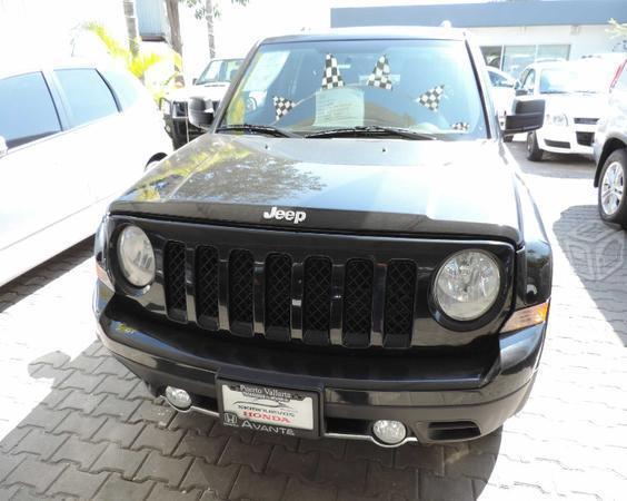 Jeep patriot limited piel equipada -11