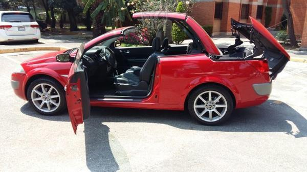 Megane cc convertible piel audio rines impecable -07